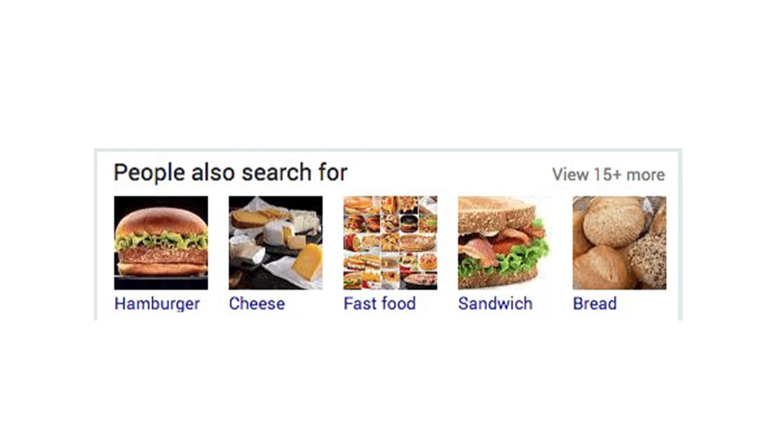 مثال لميزات جوجل االبحثية