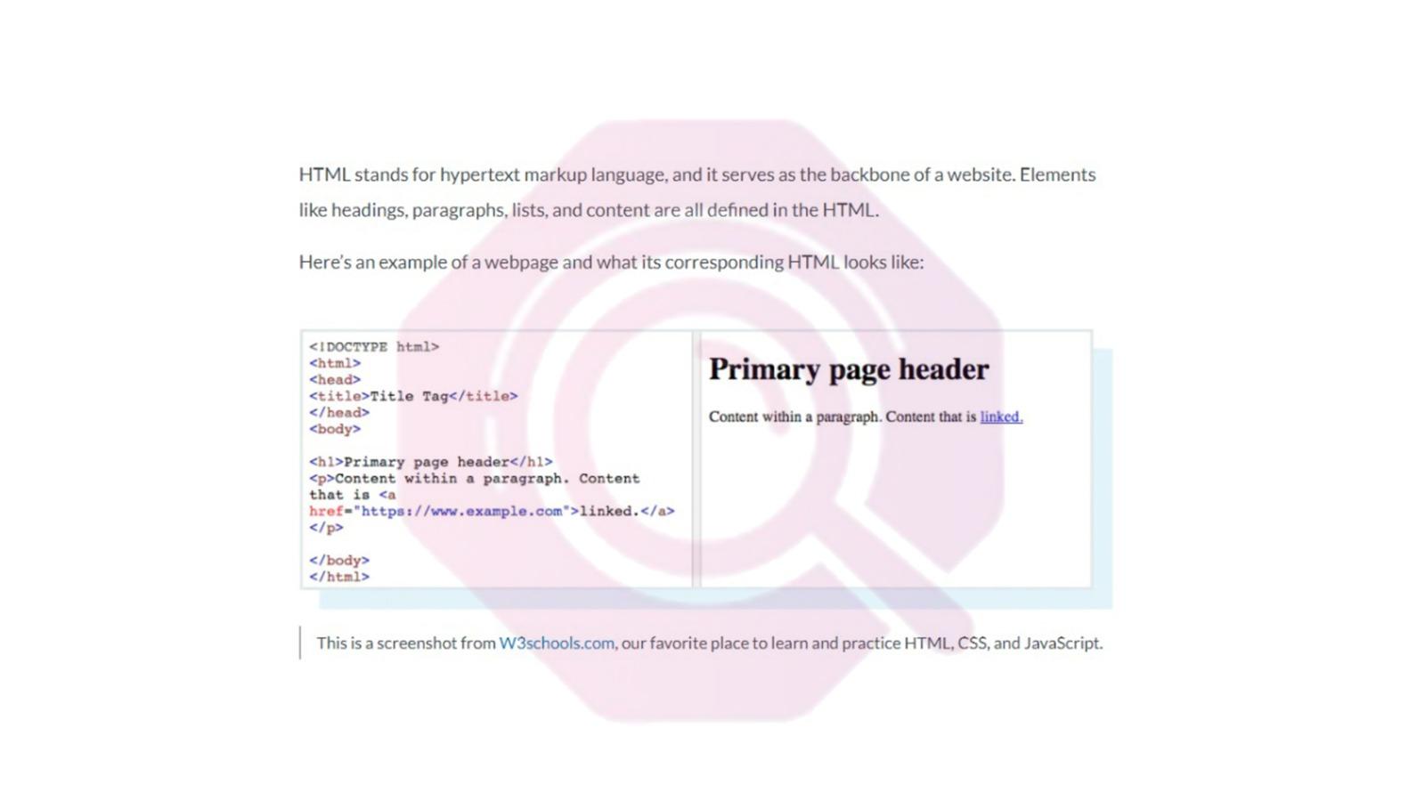 برمجة بلغة html